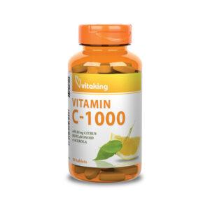 C-vitamin 1000mg + csipkebogyó+ acerola +bioflavonoidok (90)