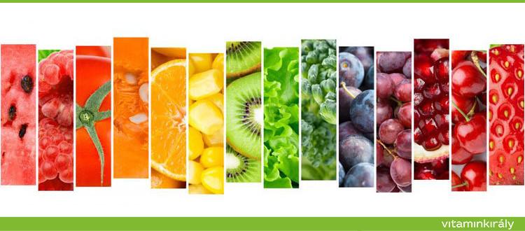 Miért jó ha színesen táplálkozol?