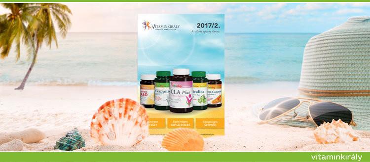 Nyári katalógus a Vitaminkirálytól! Lapozd át online!