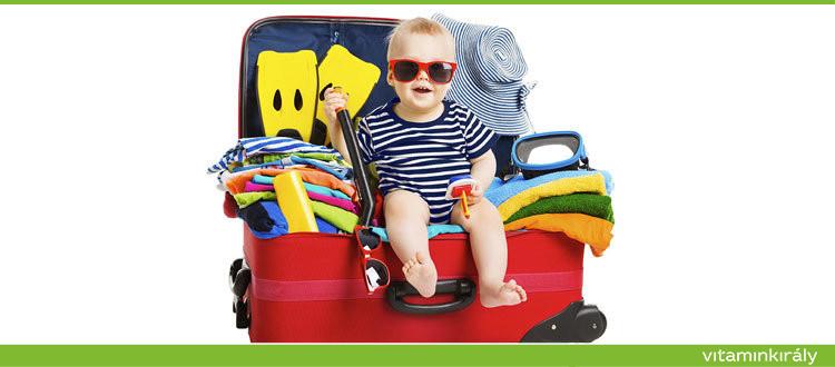 Zavartalan nyaralás, vitaminok, útipatika, nyári vitamin csomag ajánlatok